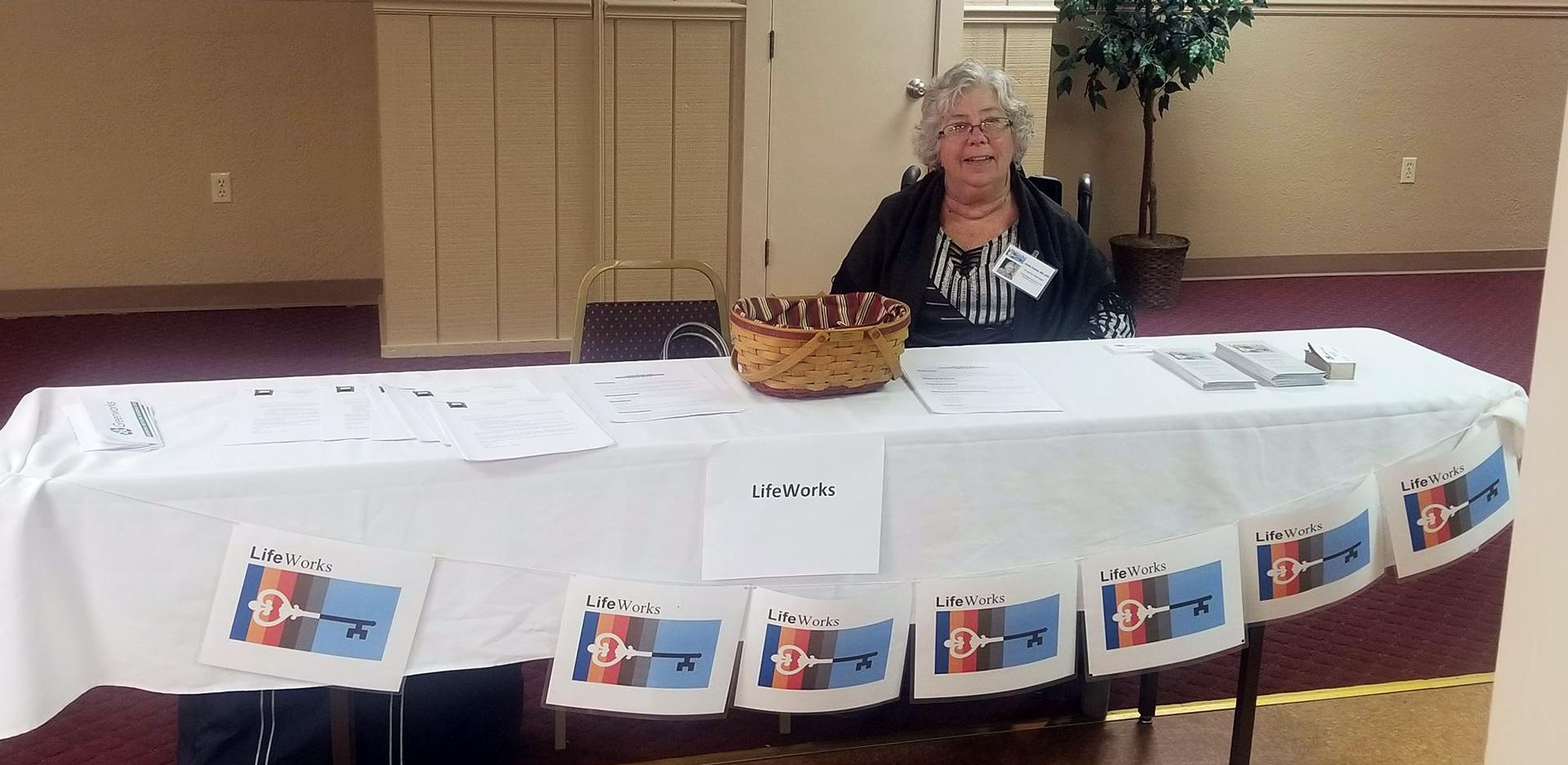 LifeWorks GBR County Job Fair, Cindy Tucker